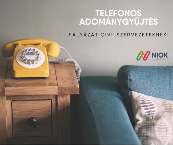 Pályázati felhívás telefonhívással és sms-sel támogatható adománygyűjtő rendszer használatára közhasznú szervezetek részére