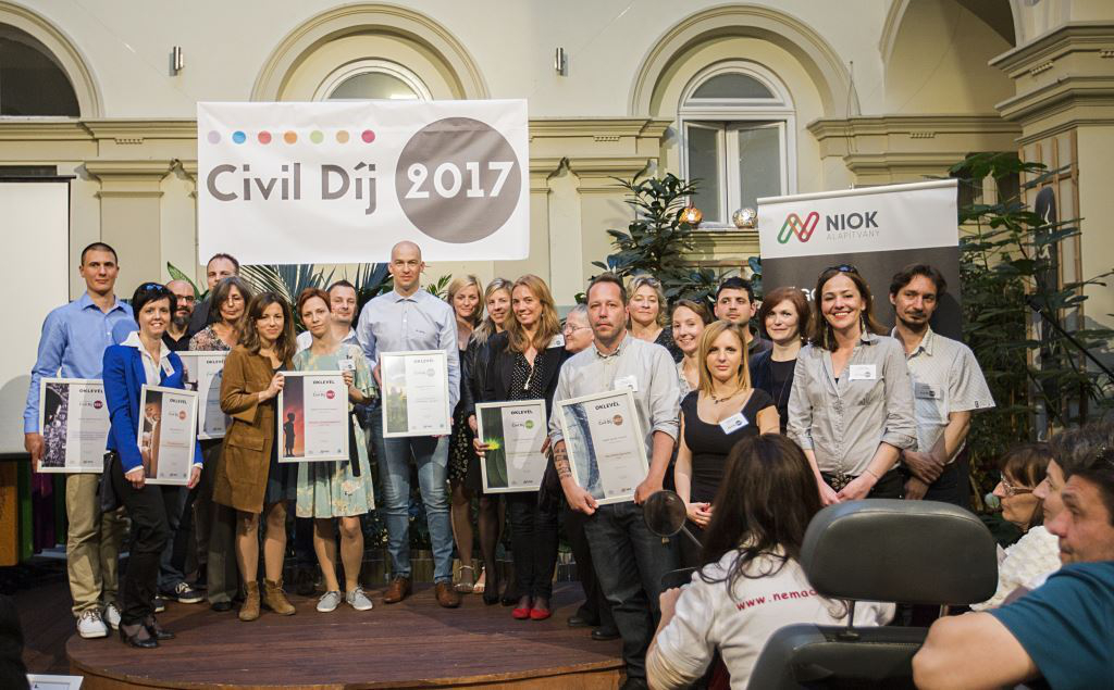Civil díj 2017