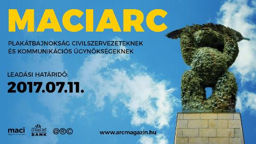 MACIARC Pályázat civilszervezetek és kreatív ügynökségek számára